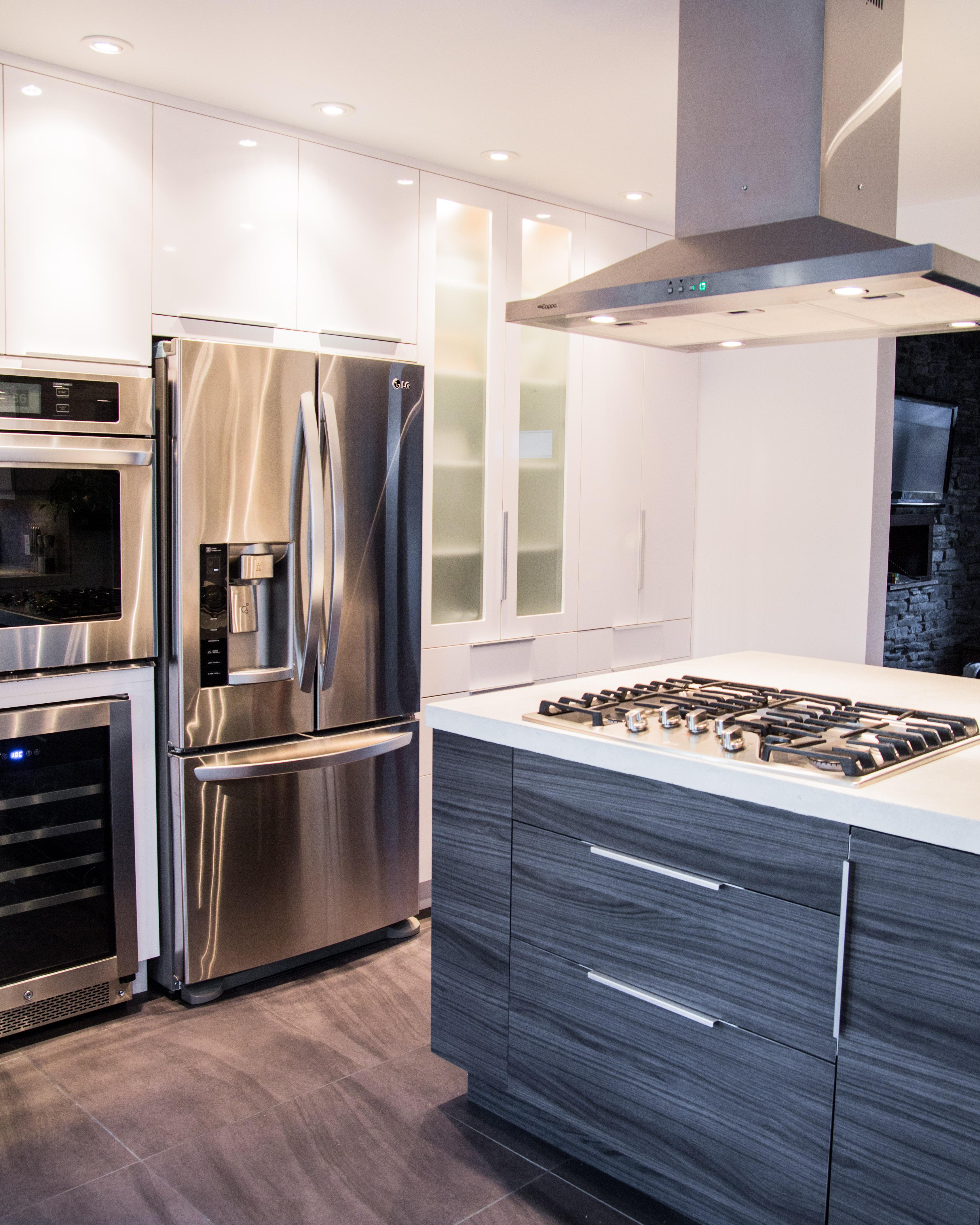 installation d'armoires de cuisine