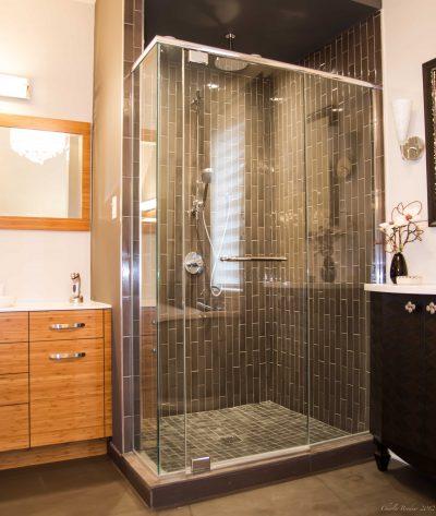 Installation douche céramique
