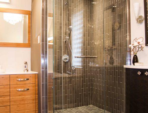 Installation de douche en céramique Boucherville