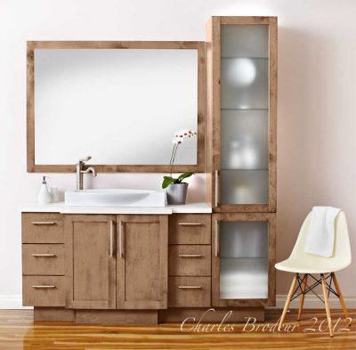 Beautiful salle de bain vanite montreal photos for Renovation salle de bain rive sud